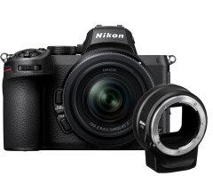 Nikon Z5 + 24-50mm f/3.5-6.3 + FTZ adapter