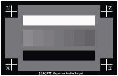 Sekonic Exposure Profile Target