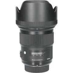 Tweedehands Sigma 50mm f/1.4 DG HSM Art Nikon CM2947
