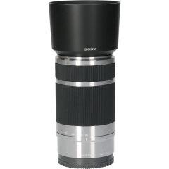 Tweedehands Sony 55-210mm f/4.5-6.3 OSS E-mount Zilver CM2960