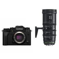 Fujifilm X-T4 Zwart + MKX 18-55mm T2.9 Cine