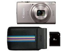 Canon IXUS 285 Essentials Kit Zilver