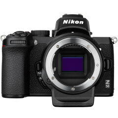 Nikon Z50 + FTZ Mount adapter