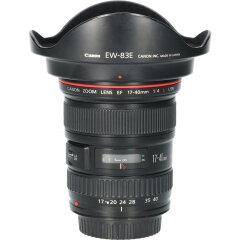 Tweedehands Canon EF 17-40mm f/4.0L USM CM0827