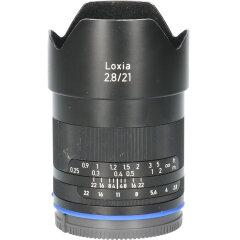 Tweedehands Carl Zeiss Loxia 21mm f/2.8 Sony E CM3788