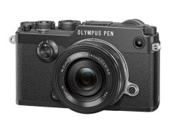 Olympus PEN-F Zwart + 14-42mm EZ