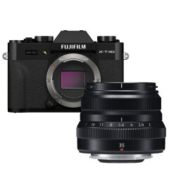 Fujifilm X-T30 II Zwart + XF 35mm f/2.0 WR Zwart