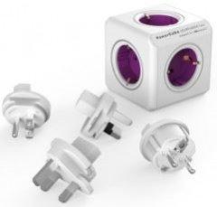 Allocacoc PowerCube ReWirable + Plug 3 Stuks
