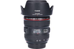 Tweedehands Canon EF 24-70mm f/4.0L IS USM Sn.:CM6473
