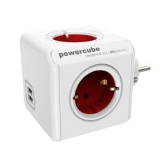 Allocacoc PowerCube Original USB Rood