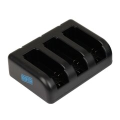 Brofish Triple Battery Charger - for GoPro Hero4