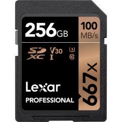 Lexar SDXC Pro 256GB 667X UHS-1