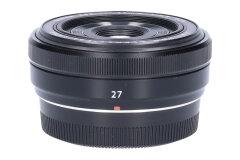 Tweedehands Fujifilm XF 27mm f/2.8 - Zwart Sn.:CM6770