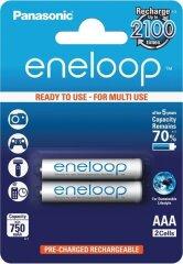 Eneloop AAA Batterijen (2 stuks)