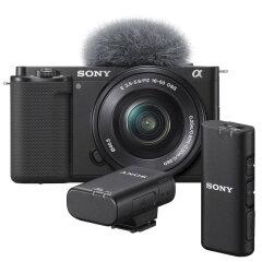 Sony ZV-E10 + E 16-50mm + ECM-W2BT