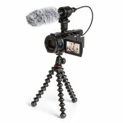 Sony FDR-AX53 + CG60 Microfoon + JOBY GorillaPod 1K Kit
