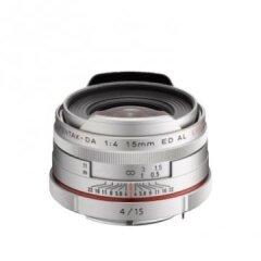 Pentax HD DA 15mm f/4 AL Zilver