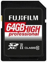 Fujifilm SDXC 64GB Pro C10 UHS-II R285/W180MB/s