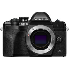 Olympus E-M10 Mark IV Zwart Body