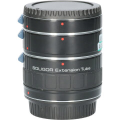 Tweedehands Soligor set tussenringen 3-delig voor Canon AF/EFS CM4447