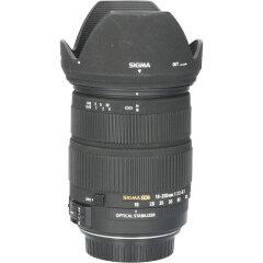 Tweedehands Sigma 18-200mm f/3.5-6.3 DC OS HSM Canon-AF CM2106