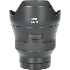 Tweedehands Carl Zeiss Batis 18mm f/2.8 Sony E CM4639
