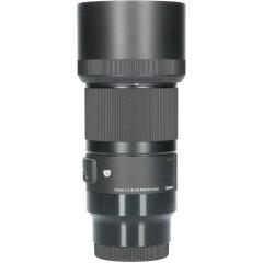 Tweedehands Sigma 70mm f/2.8 DG Macro Art Sony E CM5305