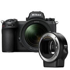 Nikon Z7 II + 24-70mm f/4.0 + FTZ Mount Adapter