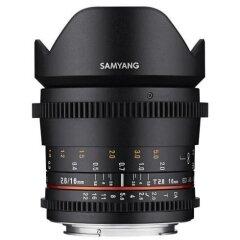Samyang 16mm T2.6 ED AS UMC VDSLR Micro 4/3
