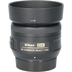 Tweedehands Nikon AF-S 35mm f/1.8G DX CM1126