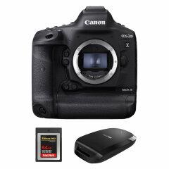 Canon EOS 1Dx Mark III + CFexpress 64GB + Reader