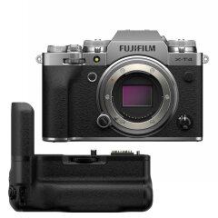 Fujifilm X-T4 Zilver + VG-XT4 Powergrip