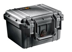 Peli™ (Protector) Case 1300 Black 25,1x17,8x15,5cm (plukschuim interieur)