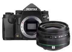 Pentax Kp Zwart + 18-50mm