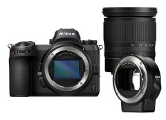 Nikon Z7 + 24-70mm f/4.0 + FTZ Adapter