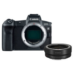 Canon EOS R + EF-RF Adapter