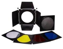 Falcon Eyes KLeppenset, Honingraat, Filters SFA-BHC