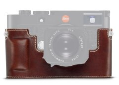Leica M10 Leather Protector - Vintage Bruin