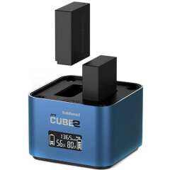Hahnel ProCube2 Twin Charger voor Panasonic/Fuji