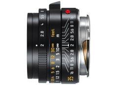 Leica Summicron-M 35mm f/2.0 Asph (2016) - Zwart