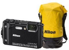 Nikon Coolpix W300 zwart + WP tas