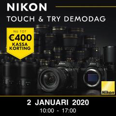 Nikon Kassakorting Touch & Try Demodag