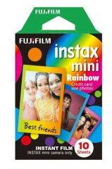 Fujifilm Instax Mini Colorfilm Rainbow Enkelpak