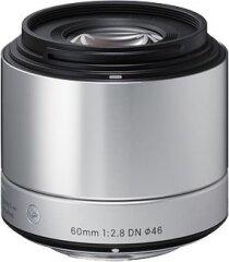 Sigma 60mm f/2.8 DN Art Micro 4/3 - Zilver