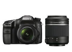 Sony Alpha SLT A68 + 18-55mm + 55-200mm