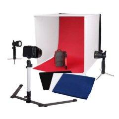 Caruba Portable Fotostudio met losse LED lampen 60x60x60cm