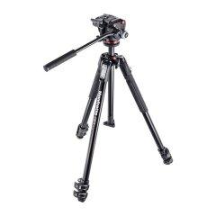 Manfrotto MK190X3-2W Alu Kit Incl. MH-XPRO2W videokop