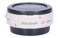 Tweedehands Soligor AF Digi Teleconverter 1.4xPRO voor Canon Sn.:CM7374
