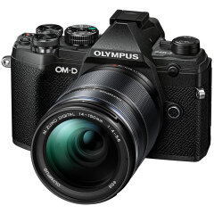Olympus OM-D E-M5 Mark III Zwart + 14-150mm