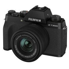 Fujifilm X-T200 zwart + XC 15-45mm
